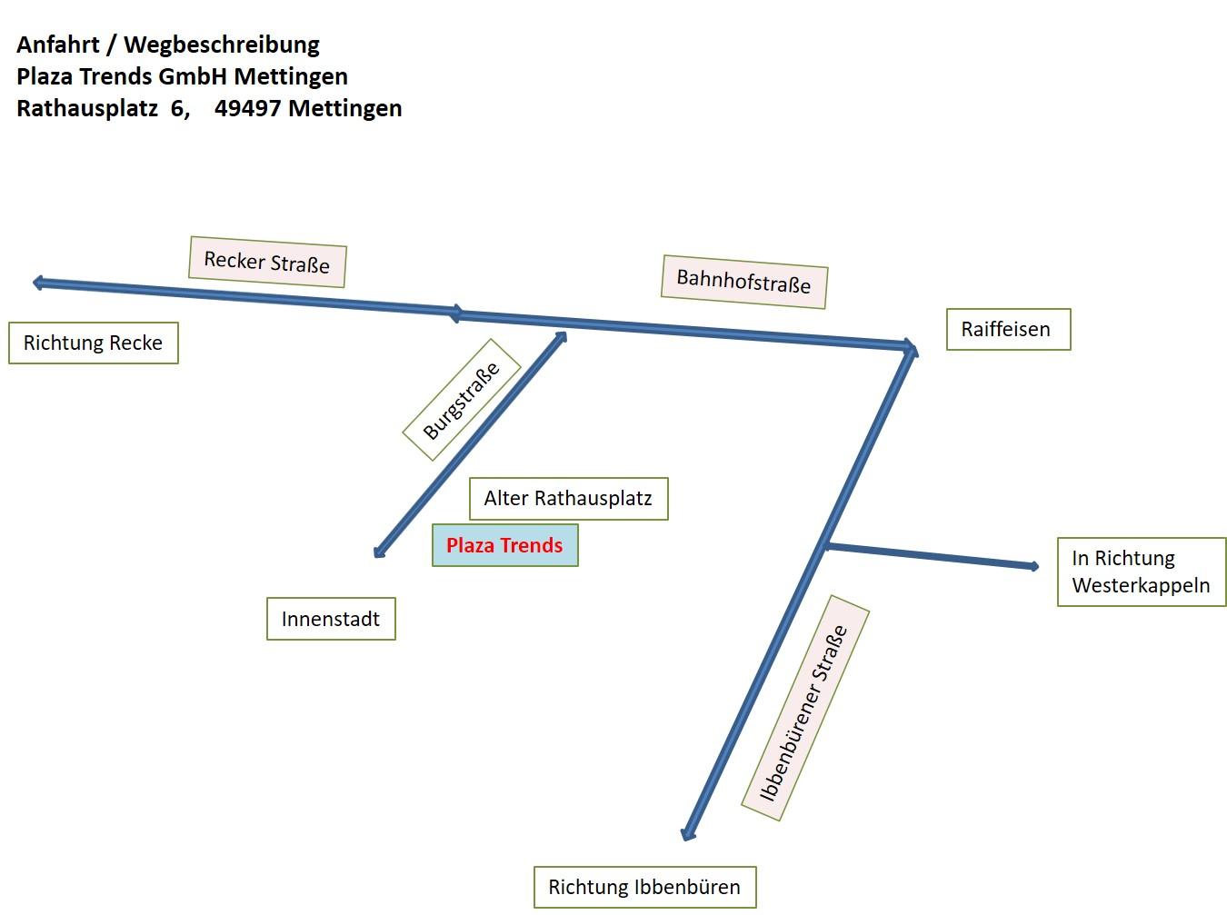 PLAZA Trends - Standort Mettingen