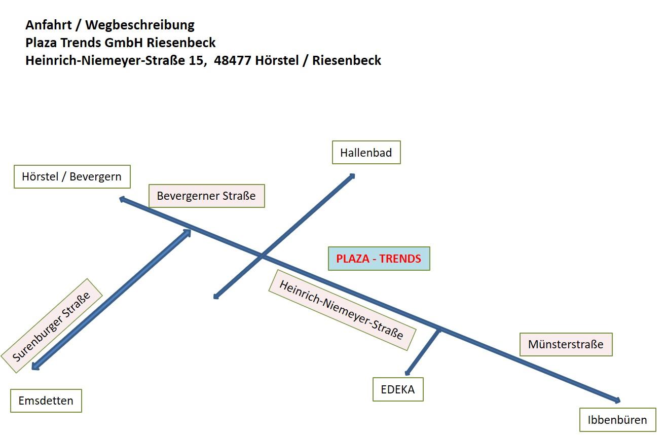 PLAZA Trends - Standort Riesenbeck